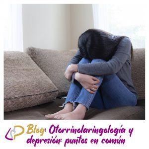 Otorrinolaringología y depresión: puntos en común