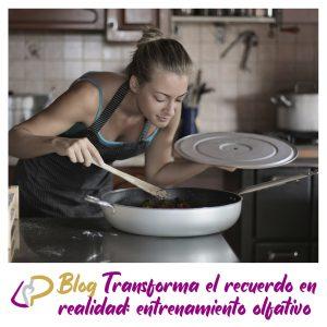 Transforma el recuerdo en realidad: entrenamiento olfativo